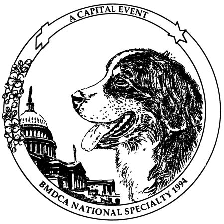 Bernese Mountain Dog Club of America -- BMDCA Specialty 1994